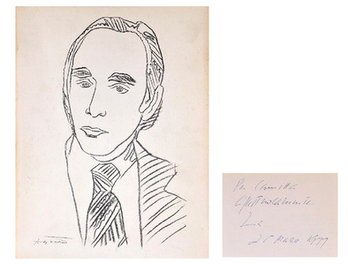 """Twenty Years"", 1977, SIGNED/Inscribed by Leo, Exhibition Catalogue, Leo Castelli Gallery, 1st Edition"