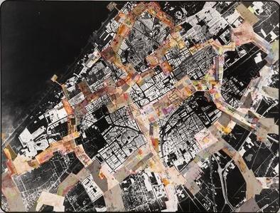 Grundriss New Babylon über The Hague