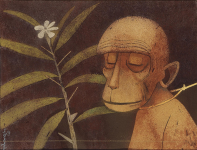 Ape and the Flower