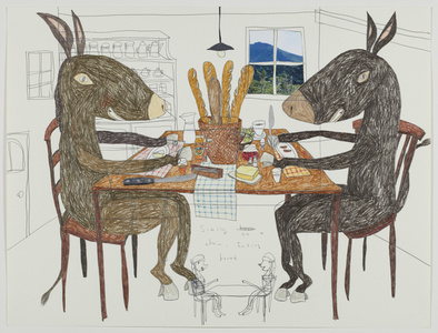 Dinner Table of Donkey