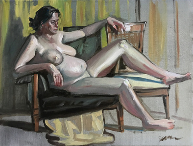 Untitled (Mary Ann Reclined)
