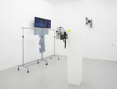 Installation view, Fluxia Gallery, Milan