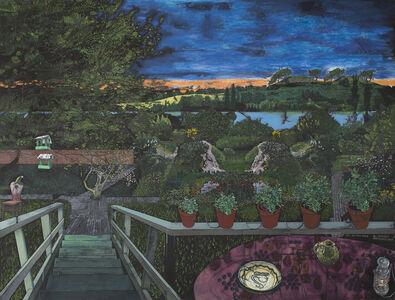 Paradismaleri #I Et øjeblik i Leonard Woolfs have
