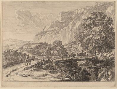 The Wooden Bridge at Sulmona, near Tivoli