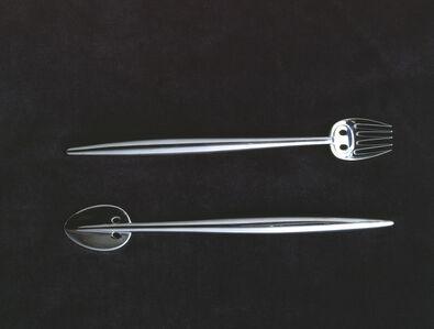 ish knife and fish fork for Charles Rennie Mackintosh and Margaret Macdonald Mackintosh