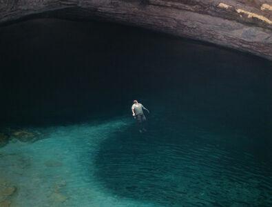 Sink Hole Floating