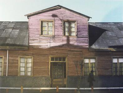 La Casa de la Cortinas. Nueva Imperial, Chile