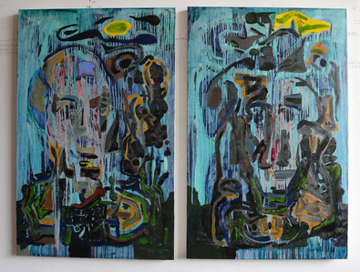 Colour, Luminosity, and Temperature #1 (diptych)