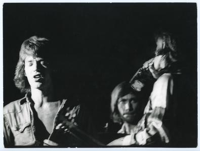 Mick Jagger, Charlie Watts, and Keith Richards, Winterland, San Francisco, California