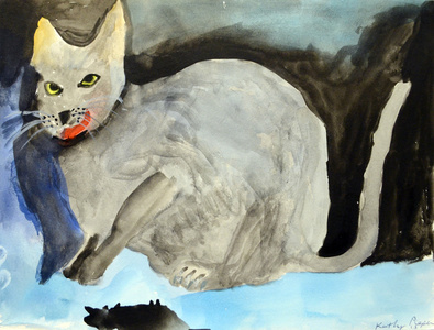 Dead Mouse Cat