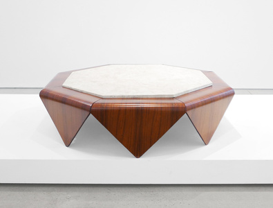 """Petalas"" Rosewood Coffee Table"