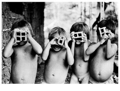 Meninos e a fotografia