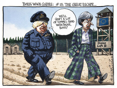 Boris WWII Gaffes: #15. The Great Escape...