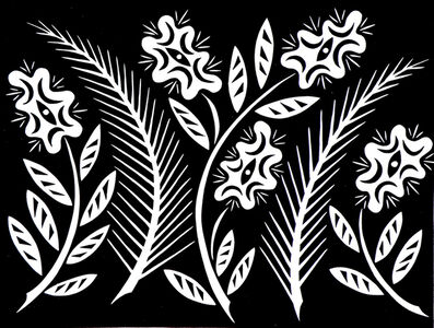 Ferns With Finesse, Black