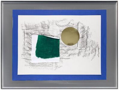 Surcollage d'atelier #1 - série paléolithique, Surcollage d'atelier #1 - série Frottage-sol 'Galerie nächst St.Stephan Rosemarie Schwarzwälder' 2008-2016