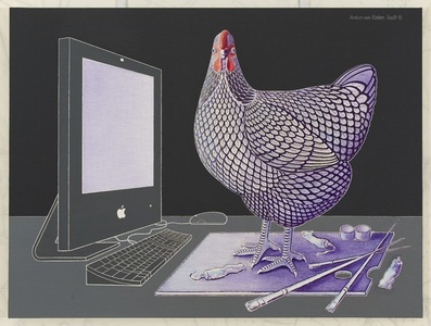 iMac, Wyandotte Chicken and Palette