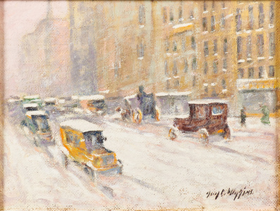 New York Winter (Fifth Ave. View)