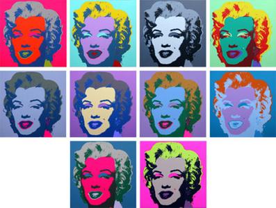 Marilyn (10 works set)