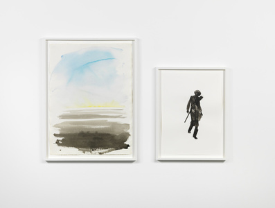 Untitled (Hunter Diptych)