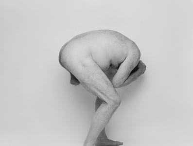 Self Portrait, Crouched