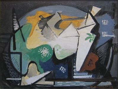 Untitled (Cubist Composition)