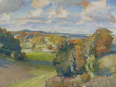 Autumn, From Ridge to Fonthill