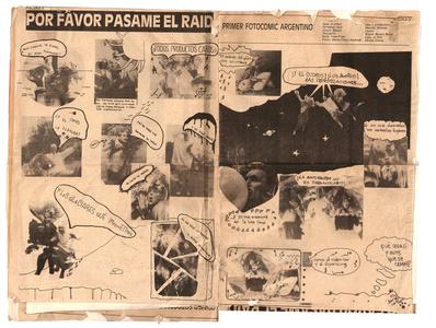 Por favor pasame el Raid. (First Argentine photo-comic).