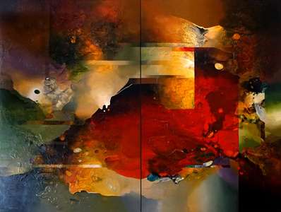 California Dreaming (Diptych)