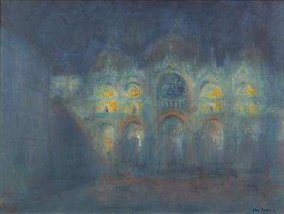 San Marco in Moonlight