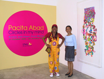 PACITA ABAD: Circles in My Mind
