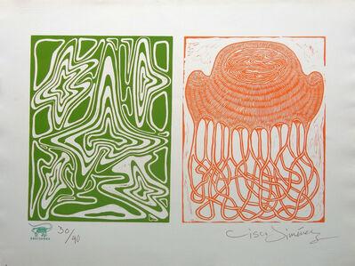 Diptico verde-naranja