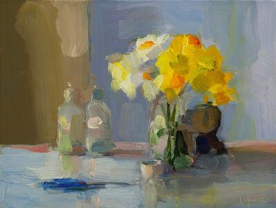 Daffodils, Bottles, and Scissors
