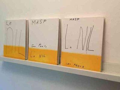 """""""La NIL"""", Set of 3-UNIQUE PAINTED Book Editions"""