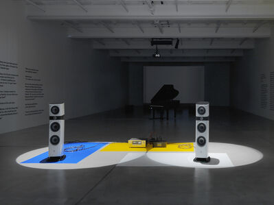 """Liam Gillick """"Extended Soundtrack For A Lost Production Line: Ton und Film"""""""