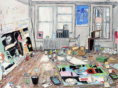 Basquiat's Studio (Crosby St/New York, 1983)