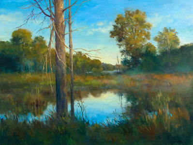 CLEAR MORNING ON THE MARSH