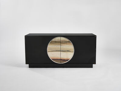 Cabinet with Marble Disc