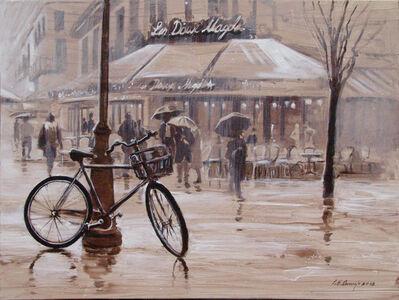 París con bicicleta