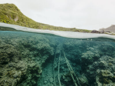 Under the Beach (Tumon Bay, Guam)
