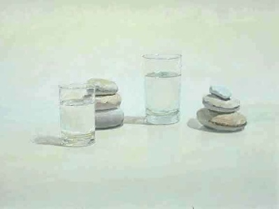 Water, Rocks