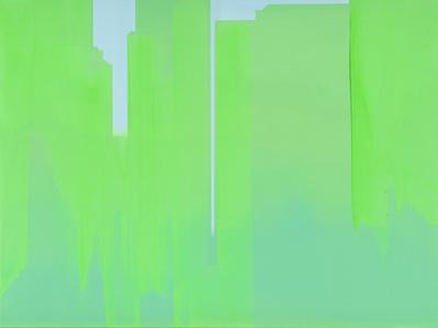 In Absentia (Sky Blue - Luminous Green)