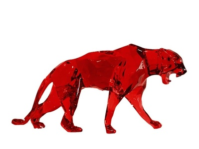 Panther Born Wild Red Crystal Clear (Click Image / Other colors available)