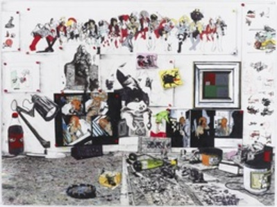 Still Life with Bill Haydon's Painting