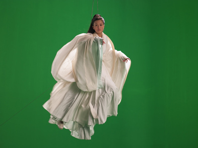 Green Screen Goddess (Ten Thousand Waves)
