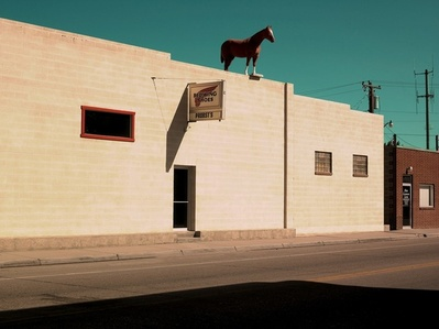 Horse on the roof, Greybull WY | American Idler
