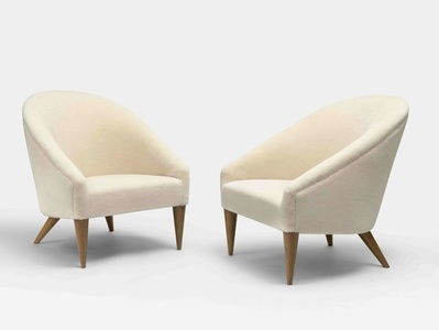 Pair of Crapaud Armchairs