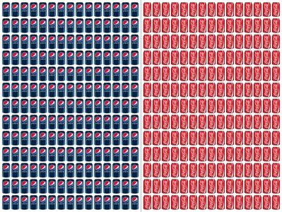 Coke/Pepsi (390 Cans)
