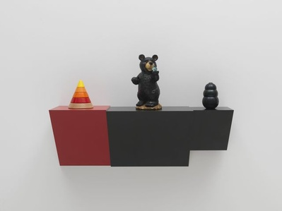 Untitled (cone, bear, kong)