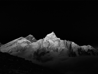 Mount Everest and Nuptse, Nepal