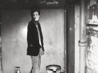 Arthur Rimbaud in New York (from a series of 44)